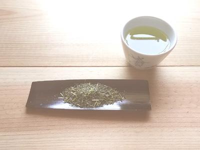 八女茶くま園 茎茶白折