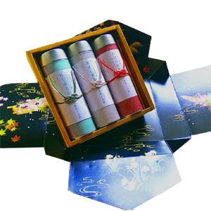 煎茶ギフト缶詰め合わせ5,000円セット